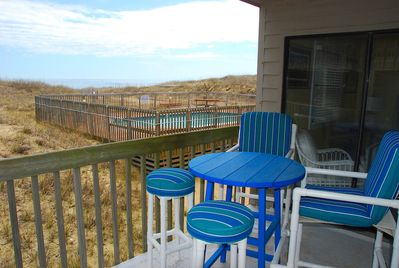 View From Balcony at Beach Bum at Admirals View III Condo 1-A