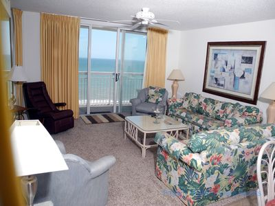Photo for Crescent Shores Oceanfront Unit 1309! Stunning Condo. Book your get away today!