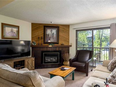 Photo for Summer Mountain Condo w/Vaulted Ceilings & Private Balcony!