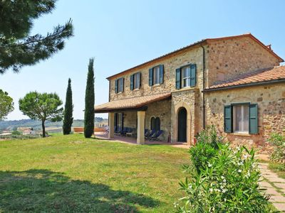 Photo for Vacation home Villa Debbio di Cocco (BBO230) in Bibbona - 10 persons, 5 bedrooms