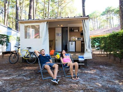 Photo for Camping Lou Pignada ***** - Bungalow Eco 3 rooms 4/5 people
