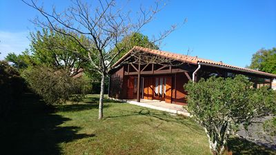 Photo for 2BR Chalet Vacation Rental in Gastes, Landes