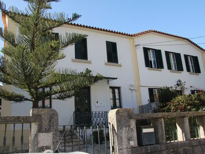 Photo for Charming cottage with garden and pool, 400 meters from the beach and 1.5 km of golf.