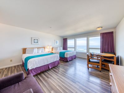 Photo for Magnificent room w/ breathtaking ocean views, access to beach & indoor pool