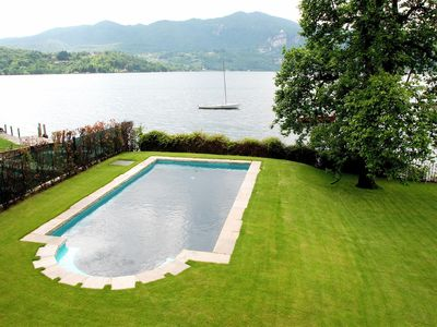Photo for Vista Lago is a picturesque, excellently restored villa with private pool near Lake Orta
