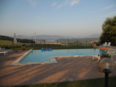 Photo for Tuscan farmhouse with swimming pool between Barberino di Mugello and Scarperia