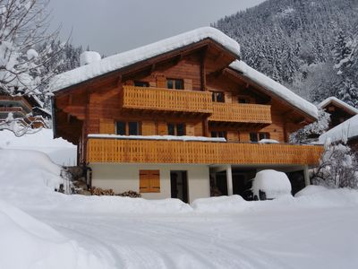 Photo for Family Ski Chalet in the stunning Alps