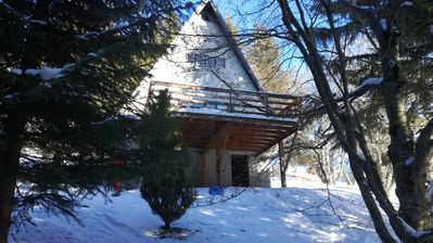 Photo for Chalet for Rent in Superbesse (63) of 3 bedrooms - TV - WIFI and TERRACE