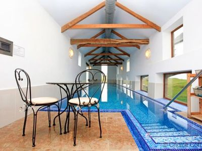 Photo for WOOLACOMBE HIGH VIEW FARMHOUSE   6 Bedrooms   Sleeping 12   Heated Indoor Swimming Pool   110 acres