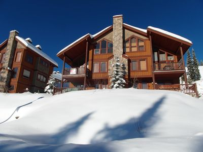 Photo for Amazing Views, Spacious Living with Hot Tub and Ski In/Out Access to Big White