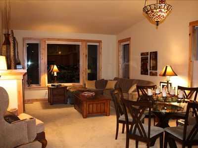 Photo for Townhouse in the bluffs located above the old mill! Beautiful mountain views!