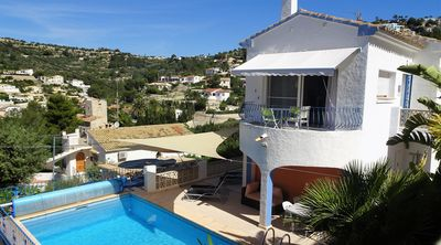 Photo for VILLA  2 or 3 BEDROOMS PRIVATE HEATED POOL, WIFI, 5 MIN BEACH