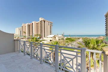Photo for 3 level townhome across from beach with semi-private pool!