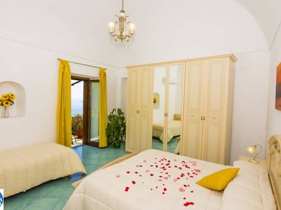Photo for Yellow Dream-like Apartment in Positano