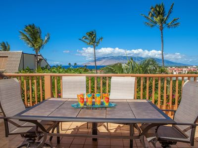 Photo for Maui Kamaole #L-202 2Bd/2Ba, Full Ocean View, Great Rates! Wifi, Sleeps 4