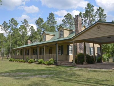 Enjoy your stay on a private, equestrian plantation.