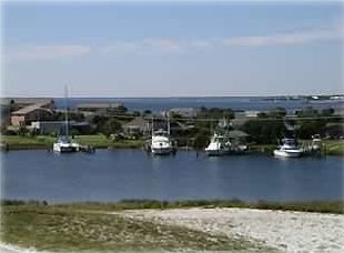 Little Sabine Bay and Sound View from the Top and Rear Decks