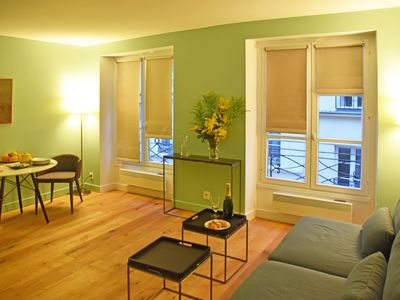 Photo for New design one bedroom apartment in LE MARAIS sleeps 2