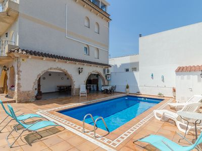 Photo for Club Villamar - Nice and cozy villa with private pool located very close to the beach and all ame...