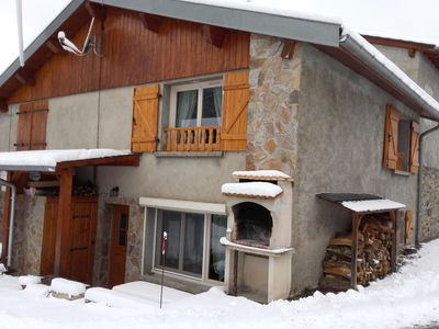 Photo for Chalet in the Ariegeoises Pyrenean, with good facilities
