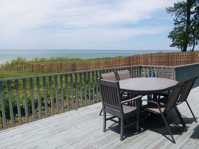 Photo for Million dollar view of Lake Michigan, condo on Lake Michigan.