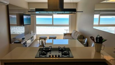 Photo for Fully sea front apartment with two suites