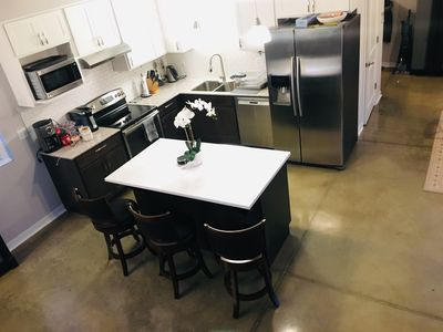 Downtown Spacious Modern New House Large Deck Next to Monon Close to Mass Ave