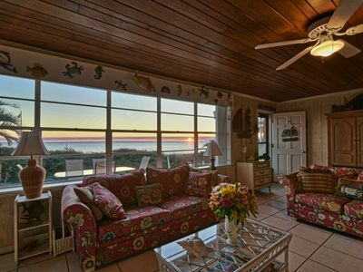 Photo for Beach-front. Pet-friendly. Single family home.  Quiet. Gorgeous sunsets. 🌅