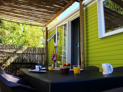 Photo for Camping Air Marin **** - Mobile home Acapulco More 4 Rooms 6 People