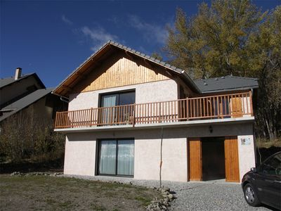 Photo for 2BR Chalet Vacation Rental in ST MICHEL DE CHAILLOL