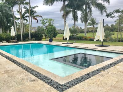 Photo for Beautiful Modern Villa in Casa de Campo Overlooking Golfcourse!