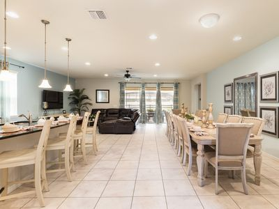 Photo for *BEST DEAL* 8BR/6BA pool villa , Close to Disney