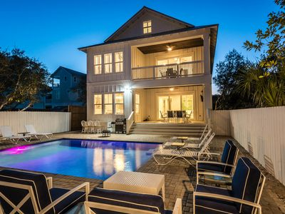 Photo for New Construction in Seagrove! Private Pool! Sleeps 25!