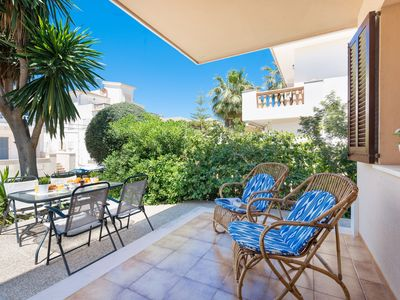 Photo for CAN CONFIT - Apartment with terrace in Can Picafort.