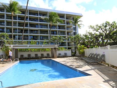 Photo for Ground Floor 2B/2B condo directly across the street from Kamaole Beach Park 2