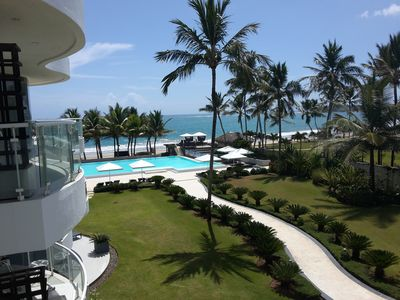 Photo for 1-bedroom Condo In Beachfront Residence With Infinity Pool In Central Cabarete