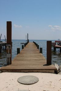 Private 90 foot dock for your boat or just to hang out