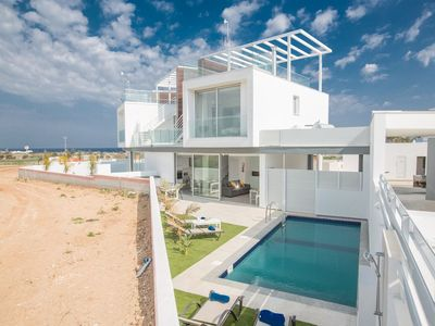 Photo for Villa Olive Bronze, Luxurious 2BDR with Pool, Close to Protaras Strip and Beach