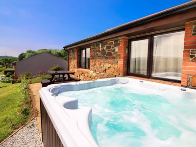 Photo for A great location, close to Portreath and Porthtowan with a private jacuzzi
