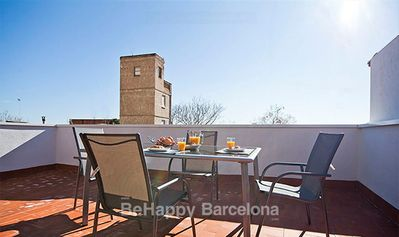 Photo for BEST PH apartment, new and with private terrace