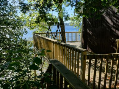 Photo for Chalet on the shores of majestic Lake Témiscouata