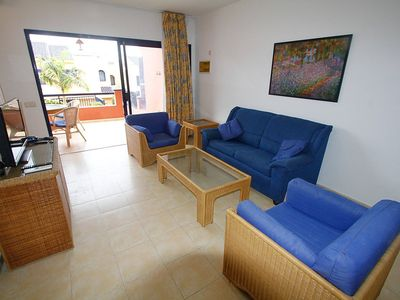 """Photo for House a short walk away (330 m) from the """"Playa Meloneras"""" in Maspalomas with Parking, Internet, Washing machine, Pool (138857)"""