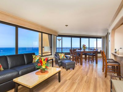 Photo for MONTHLY 2 Bdrm/2ba Discovery Bay 3801  Wrap Around Ocean / Sunset / Marina / Fireworks Views