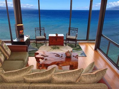 Photo for Elegant Mahana Corner 2 King Luxury Oceanfront - PLEASE READ NOTES BELOW CALENDAR FOR IMPORTANT BOOKING INFO