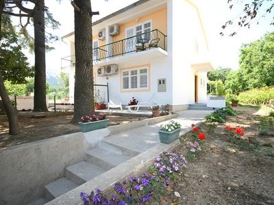 Photo for Holiday apartment with air conditioning and garden