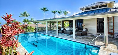 Photo for Luxury-Gated Keauhou Estates  Spectacular oceanviews with a private pool