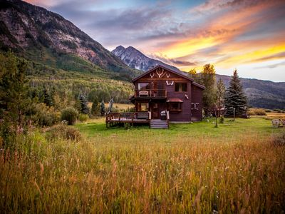 Photo for European Mtn. style  Chalet in the Heart of the Rocky Mtns - Marble, Colorado