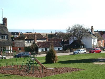 Photo for 2 Lorne Cottage - Charming 3-Bed Cottage on The Green, with Sea Views. Sleeps 6