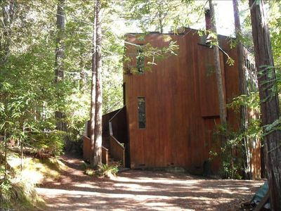 Photo for Dog-Friendly, Secluded Redwoods Getaway With Private Hot Tub