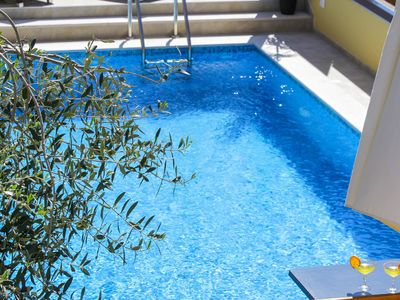 Photo for Standard Apartment for 6 with Pool in the Center of Novalja